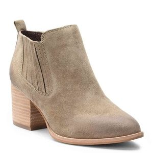 Isola 'Olicia' taupe suede bootie